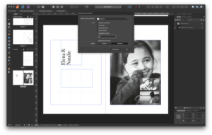 Smarte Musterseiten in Affinity Publisher