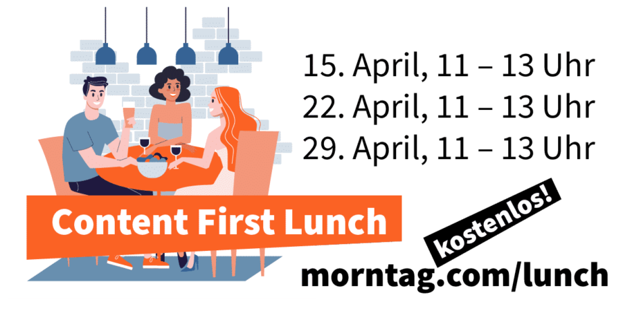 Content First Lunch – Xpublisher