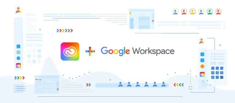 Creative Cloud and Google Workspace
